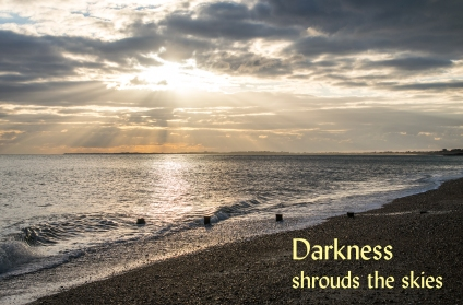 darkness shrouds Lent 2018