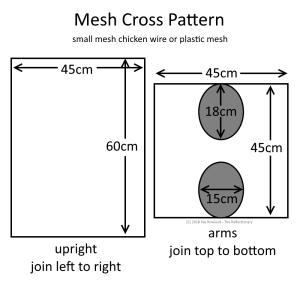 mesh cross