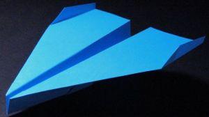 UV paper plane