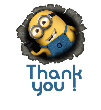 minion thank you