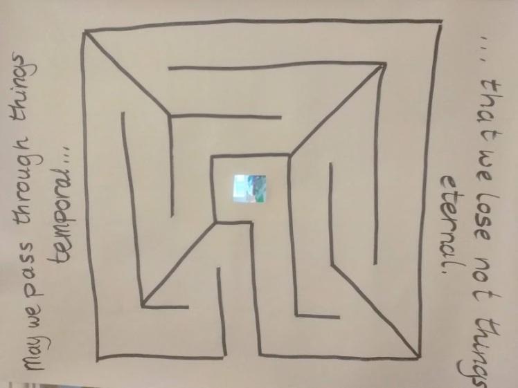 labyrinth window