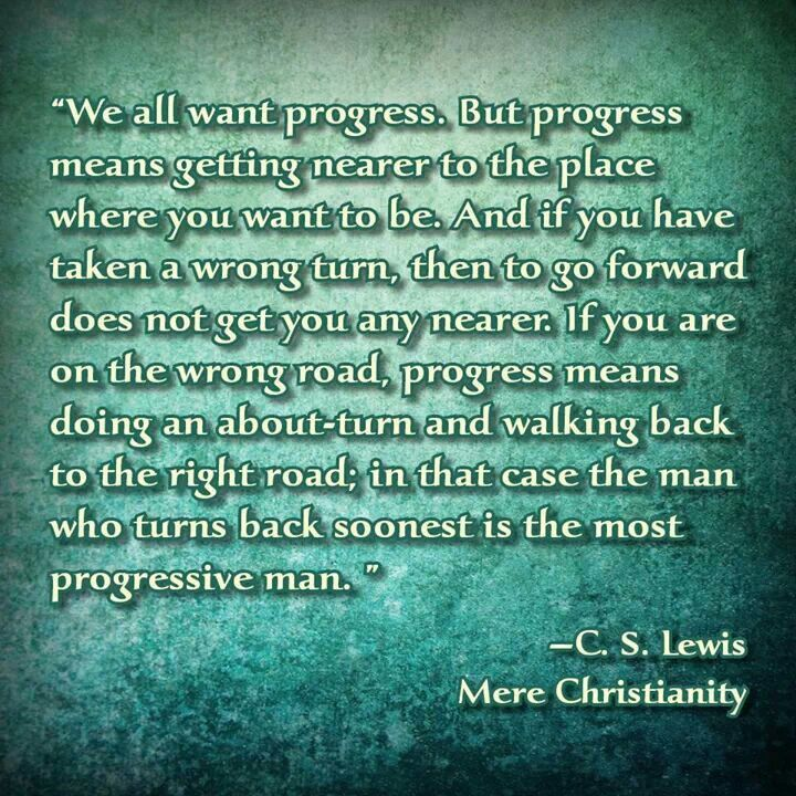 progress c s lewis