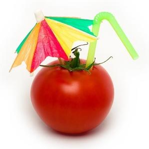 tomato umbrella